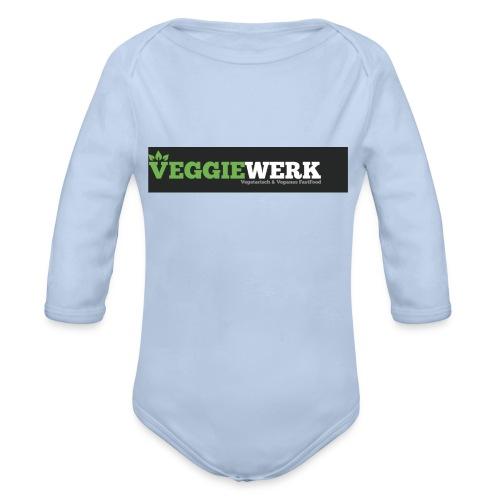 VEGGIEWERK 2 0WEIS - Baby Bio-Langarm-Body