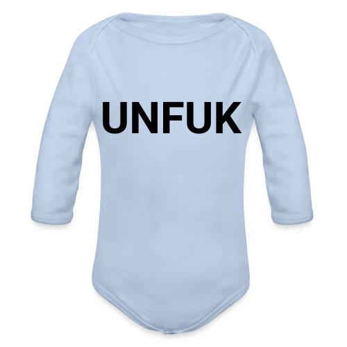 UNFUK - Baby Bio-Langarm-Body