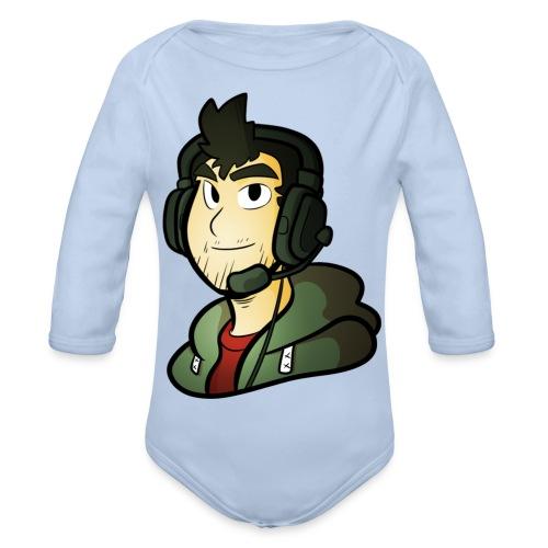 Gamer / Caster - Organic Longsleeve Baby Bodysuit