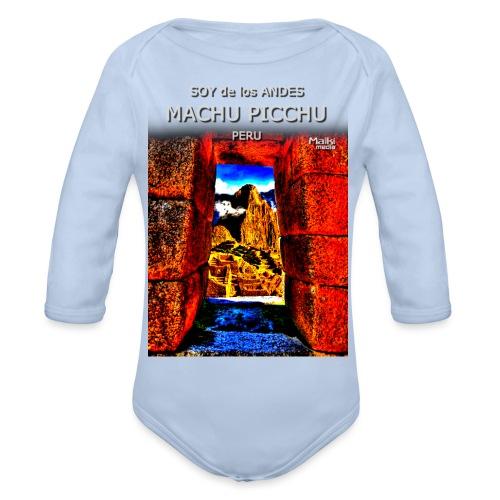 SOJA de los ANDES - Machu Picchu II - Baby Bio-Langarm-Body