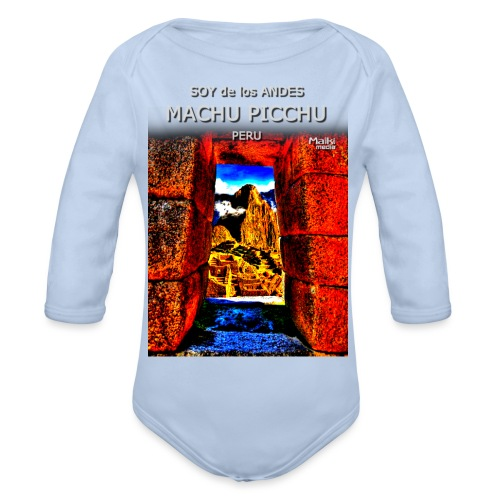 SOY de los ANDES - Machu Picchu II - Body Bébé bio manches longues