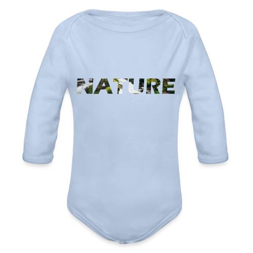 Nature - Baby bio-rompertje met lange mouwen