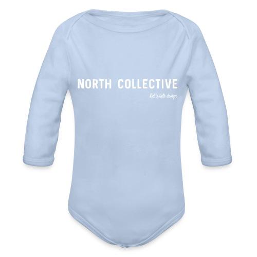 North Collective - Baby bio-rompertje met lange mouwen