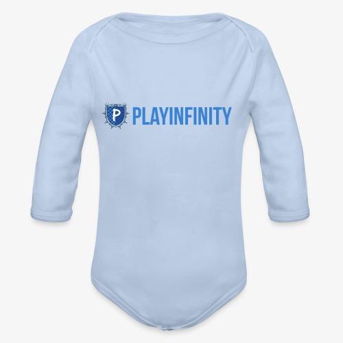 PlayInfinity-Logo - Baby Bio-Langarm-Body