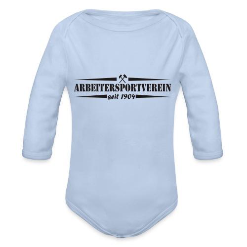 Arbeitersportverein seit 1904 - Baby Bio-Langarm-Body