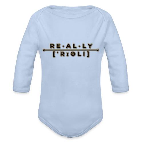 really slogan - Baby Bio-Langarm-Body
