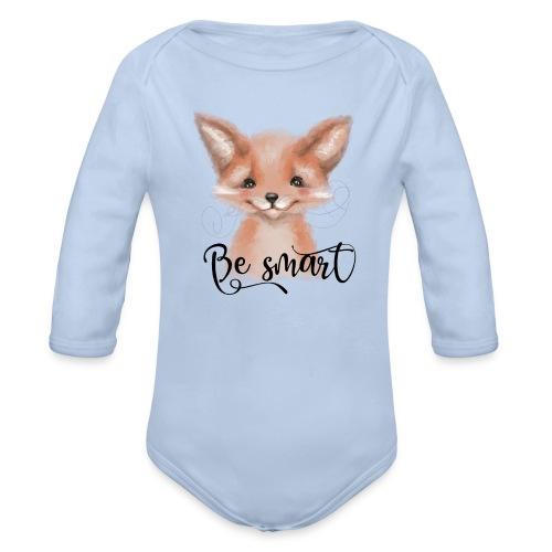 Fox Fuchs be smart - Baby Bio-Langarm-Body