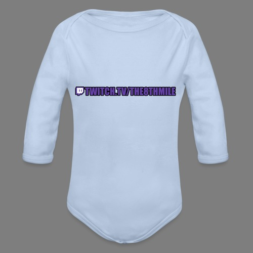 twitch.tv/the8thmile - Organic Longsleeve Baby Bodysuit