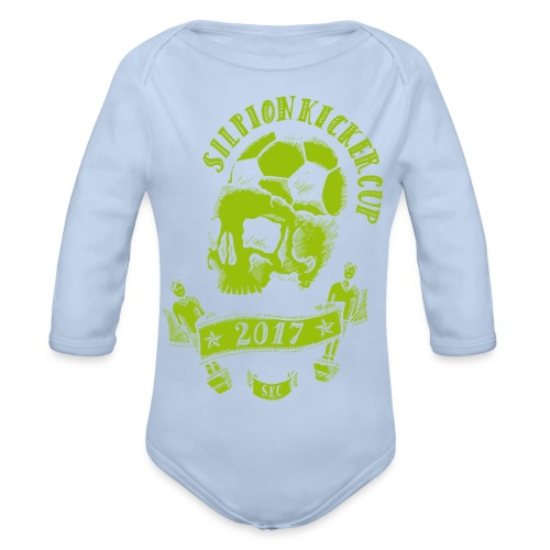 Logo Silpion Kicker Cup 2017 - Baby Bio-Langarm-Body
