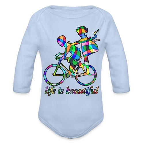 Life is beautiful - Baby Bio-Langarm-Body