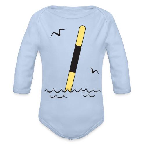LÄNSIVIITTA Merimerkit, Tekstiilit ja lahjat - Vauvan pitkähihainen luomu-body