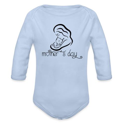 Your-Child Mother´s day - Langærmet babybody, økologisk bomuld