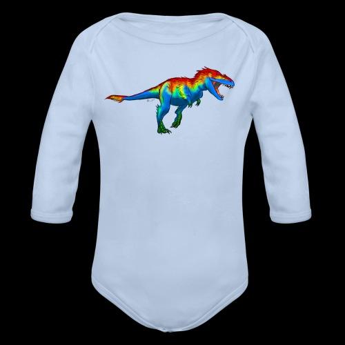 T-Rex - Organic Longsleeve Baby Bodysuit