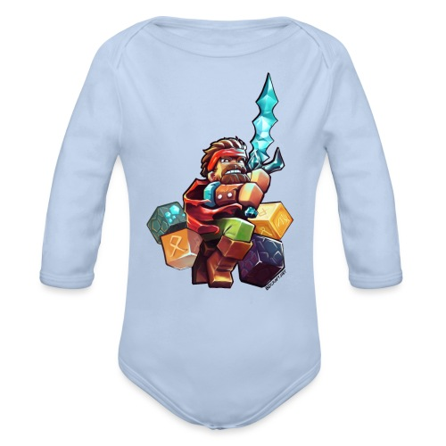 BDcraft Hero - Organic Longsleeve Baby Bodysuit
