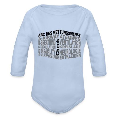 Rettungsdienst ABC - Baby Bio-Langarm-Body