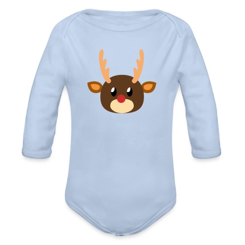 Rentier »Rudy« - Organic Longsleeve Baby Bodysuit
