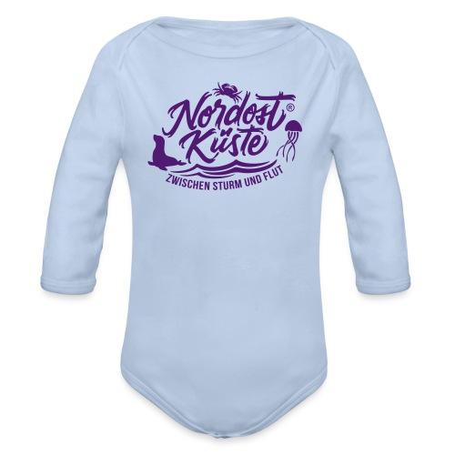 Nordost Küste Logo #11 - Baby Bio-Langarm-Body