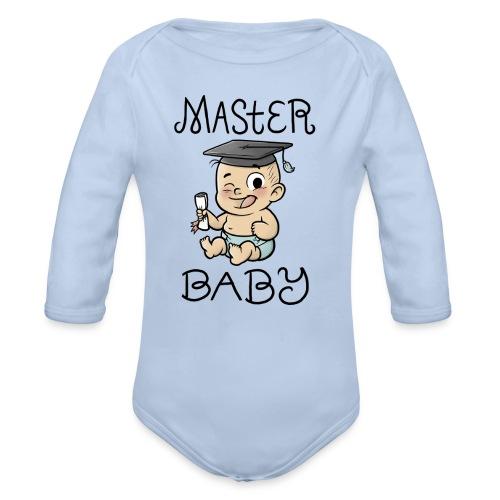 Master Baby - Baby Bio-Langarm-Body
