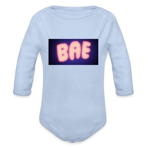 BAE - Body Bébé bio manches longues