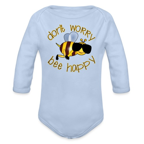Bee happy, it´s summertime! - Baby Bio-Langarm-Body