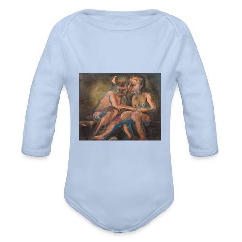 Gli Angeli - Body ecologico per neonato a manica lunga