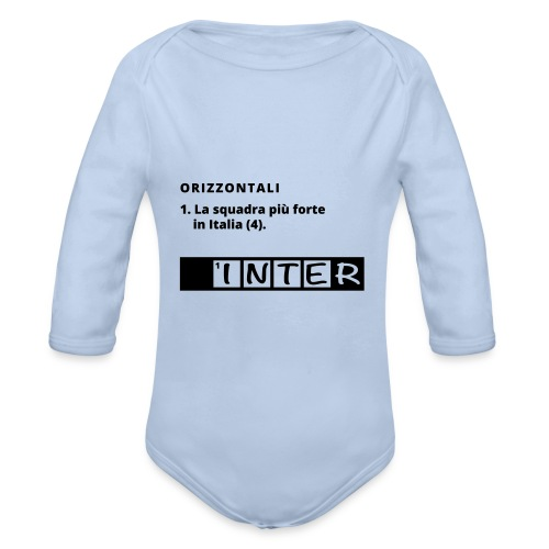 maglia-michele - Organic Longsleeve Baby Bodysuit