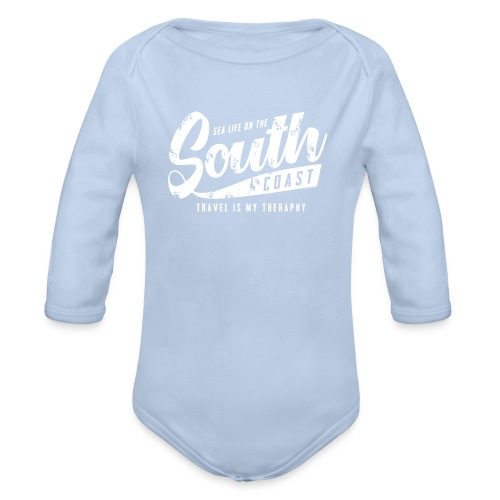 South Coast Sea surf clothes and gifts GP1305A - Vauvan pitkähihainen luomu-body