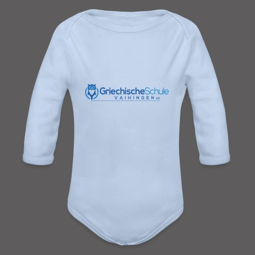 Griechische Schule Vaihingen e.V. - Baby Bio-Langarm-Body
