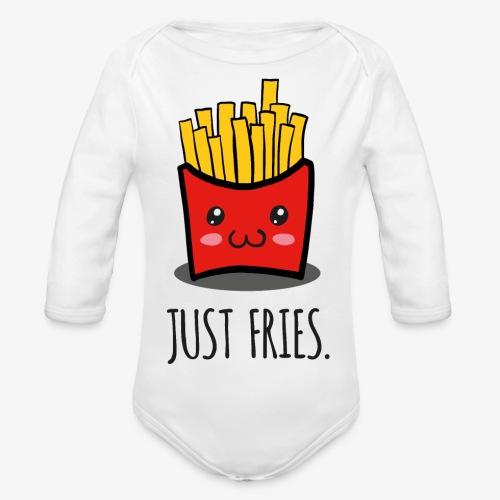 Just fries - Pommes - Pommes frites - Baby Bio-Langarm-Body