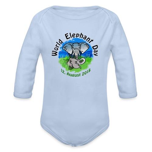 World Elephant Day 2018 - Baby Bio-Langarm-Body