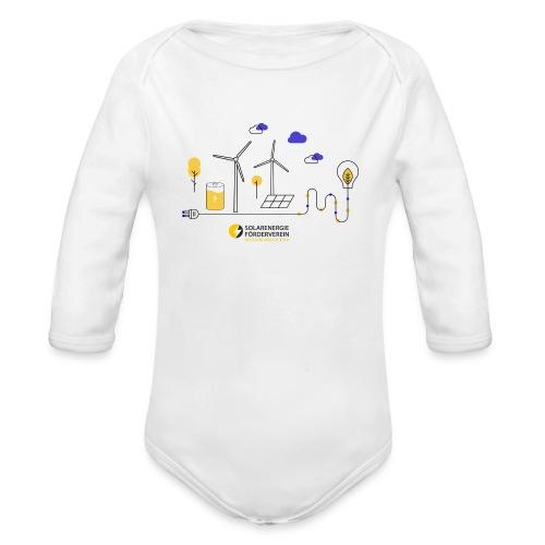 Erneuerbare Energien - Baby Bio-Langarm-Body
