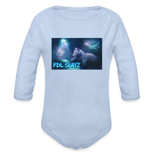 SLAYZ Clothing - Organic Longsleeve Baby Bodysuit