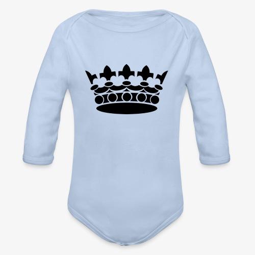 King Crown Mobilskal - Ekologisk långärmad babybody
