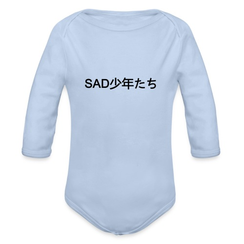 sadboys - Body bébé bio manches longues
