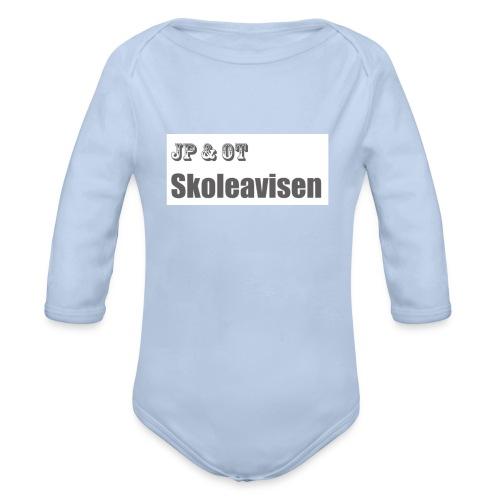 JP_-_OT_Skoleavisen_logo - Økologisk langermet baby-body