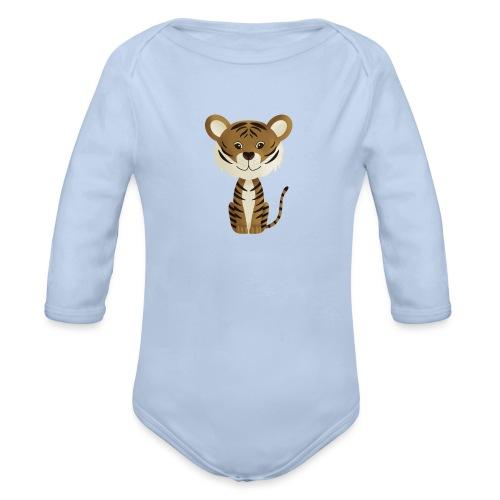 Tiger Monty - Baby Bio-Langarm-Body