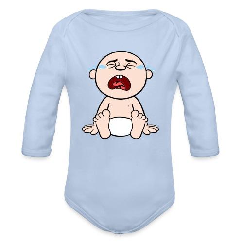 Heulendes Baby - Baby Bio-Langarm-Body