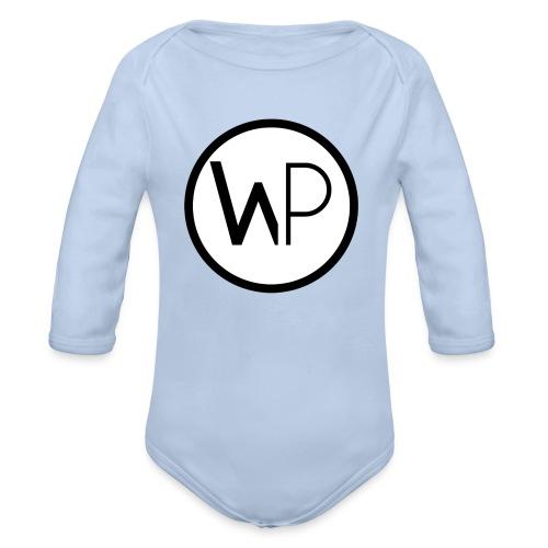 Small Logo - Organic Longsleeve Baby Bodysuit