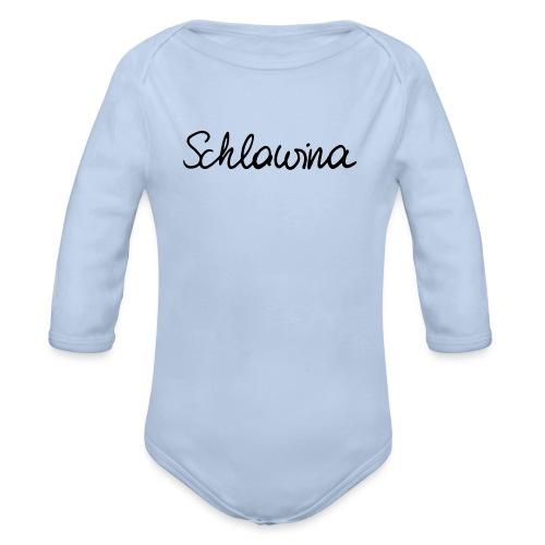 Schlawina - Baby Bio-Langarm-Body