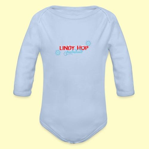 Lindy Hop Wonderland Tanz T-shirt - Baby Bio-Langarm-Body