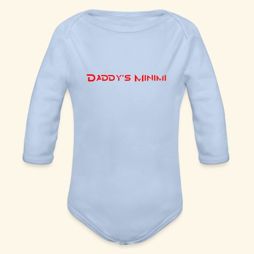 Daddys Minimi - Baby Bio-Langarm-Body