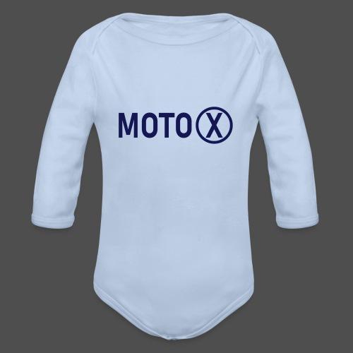 moto-x - Baby Bio-Langarm-Body