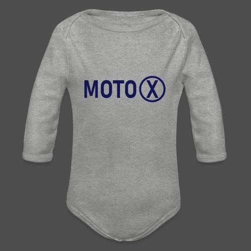 moto-X - Ekologiczne body niemowlęce z długim rękawem