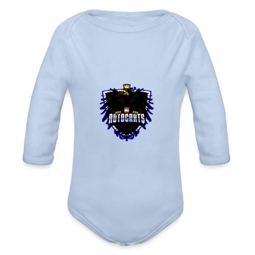 AUTocrats blue - Baby Bio-Langarm-Body