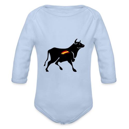 toro español - Body orgánico de manga larga para bebé