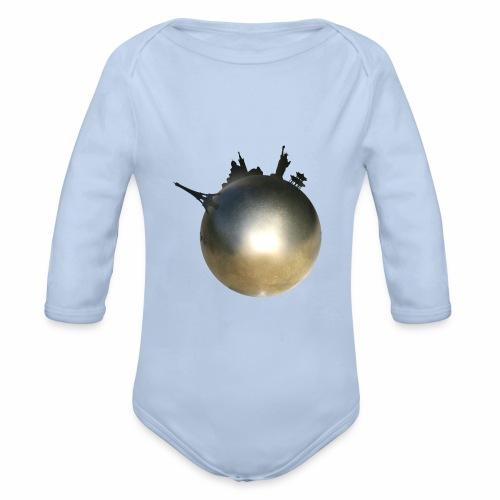 Boule de Pétanque Mondial - Body Bébé bio manches longues