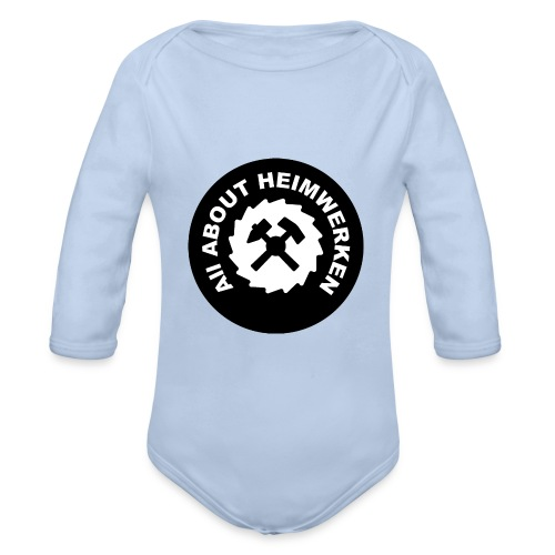 ALL ABOUT HEIMWERKEN - LOGO - Baby Bio-Langarm-Body