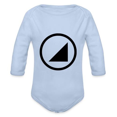 bulgebull marca oscura - Body orgánico de manga larga para bebé