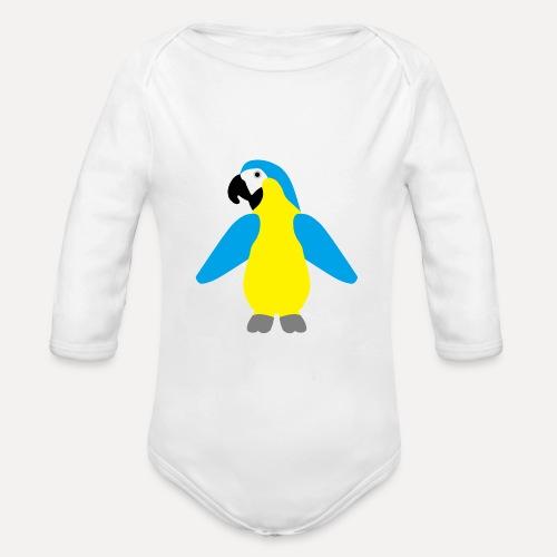 Gelbbrustara - Organic Longsleeve Baby Bodysuit