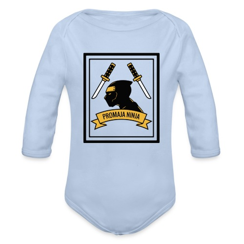 Promaja Ninja - Baby Bio-Langarm-Body